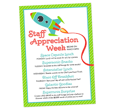 appreciation letter to chef scrapaholics space themed staff appreciation week invitation
