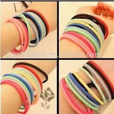 colored rubber bracelet images Hair rubber band bracelet best bracelets jpg