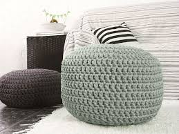 Ottoman For Baby Room Knited Footstool Ottomans For Modern Interior Ottoman Footstool