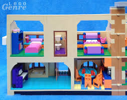 742 Evergreen Terrace Floor Plan The Lego Simpsons House Review 71006 Don U0027t Have A Cow Man