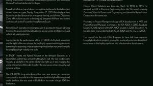 lexus hybrid battery location lexus ct 200h full details leaked