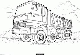 garbage truck coloring pages free kids coloring