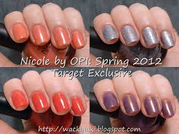 wacky laki nicole by opi spring target exclusives
