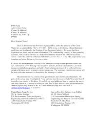 questionnaire cover letter examples gallery corporate social
