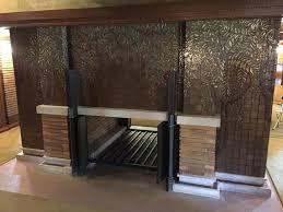darwin martin house fireplace unveiling marks end of darwin martin house restoration wbfo