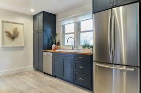 navy blue and white kitchen cupboards kitchen trend navy blue cabinets mcgillivray