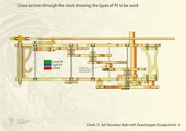 Free Wooden Gear Clock Plans Download by Clock15