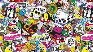 jdm sticker jdm sticker bomb wallpaper free here