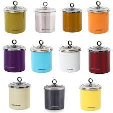 ebay kitchen canisters litre stainless steel large kitchen storage jar canister uk ebay