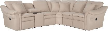 Reclining Sectional Sofas by 5 Pc Reclining Sectional Sofa With Cupholders And Ras Recliner By