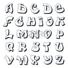 schrift design graffiti alphabet coolen schriftart design grunge