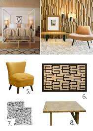 Midcentury Modern Decor - mid century decorating inspired by palm springs style lamps plus