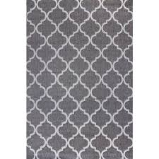 Grey And White Outdoor Rug Studio By Brown Jordan Hastings Pewter Gray 5 Ft 3 In X 7 Ft 5