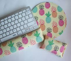 matching desk accessory set matching keyboard rest and or wrist rest mousepad set pick your