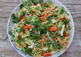 vietnamese inspired pasta and vegetable salad constantly cooking