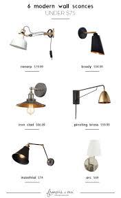 Sconces Modern Best 25 Modern Wall Sconces Ideas On Pinterest Designer Wall