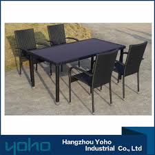 classic rattan dining table set classic rattan dining table set