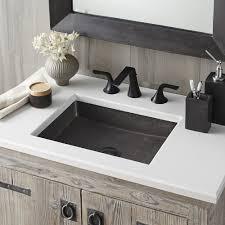 Nipomo Rectangular NativeStone Bathroom Sink Native Trails - Kitchen sink in bathroom