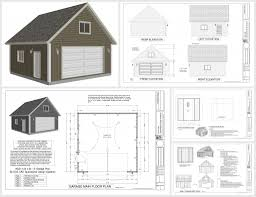 House Plans With Lofts Garage With Loft Designs Craftsman House Plans Garage Wloft 20 125