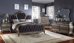 Antique Finish Bedroom Furniture by Roma Bedroom Set In Antique Silver By Meridian Furniture Get