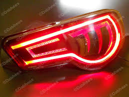 Led Flexible Light Strip by Tube Style Red Flexible Brake Light Strip Drl Led Tail Light Flexi