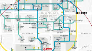 Map Of Toronto Canada by Path Map Toronto Map Of The Path Toronto Canada