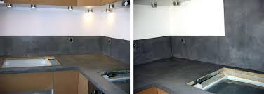 plan de travail cuisine beton loft beton cir leroy merlin