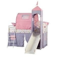 Princess Castle Bunk Bed Princess Castle Twin Size Tent Bunk Bed With Slide Toys