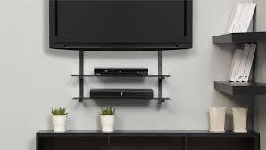Tv Floating Shelves by Floating Shelf For Tv Components Unac Co