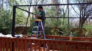 How To Build A Grill Gazebo by Assembling A New Gazebo Youtube