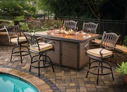 Patio Fireplace Table Patio Furniture With Fire Pit Table U2013 Medicaldigest Co