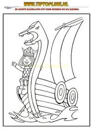 viking ship coloring page viking riding a horse with a spear in his hand coloring page