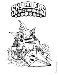 29 best coloring skylanders images on pinterest coloring pages