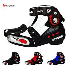 bike racing boots motorcycle racing boot promotion shop for promotional motorcycle
