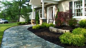 collection easy landscaping ideas front yard photos best image