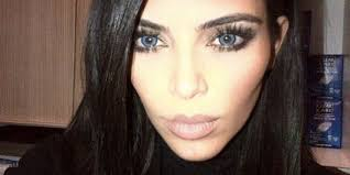 halloween contact lenses canada kim kardashian and kanye west rock blue contacts scare the