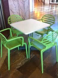 tavoli e sedie da giardino usati 7 tavoli e 28 sedie da esterno per bar a mozzate kijiji annunci