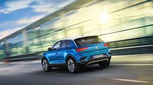 2018 volkswagen t roc rear view wallpaper hd car wallpapers