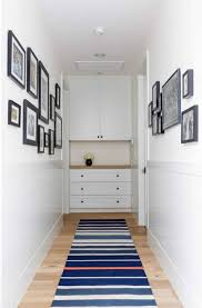 inspirational end of hallway decorating ideas simple narrow
