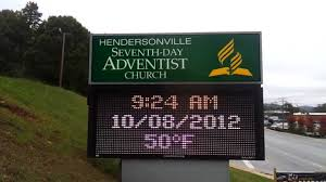 seventh day adventist church advertise in hendersonville nc