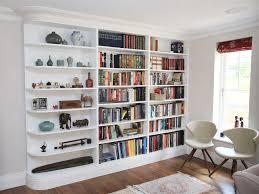 White Bookcase Uk by Built In Bookshelves Bespoke Bookcases London Furniture Artist