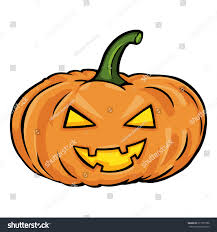 halloween pumpkin cartoons vector single cartoon halloween pumpkin stock vector 211977988