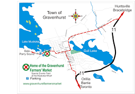 Directions And Maps Directions And Map Gravenhurst Farmers U0027 Market