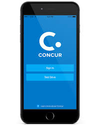 App For Expense Reports by Appcenter Concur Mobile