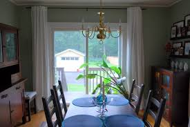 Curtain Ideas For Dining Room Dining Room Door Curtains Sliding Glass Doors Curtain Ideas And
