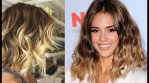 pictures of ombre hair on bob length haur trendy ombre wavy bob cut for medium length hair 1 youtube