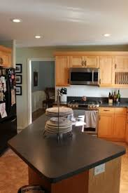 Kitchen Design Oak Cabinets by 21 Rosemary Lane Kitchen Inspiration Gray Paint Color With