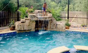 rock waterfalls for pools swimming pool waterfall designs rock waterfall for pool collection