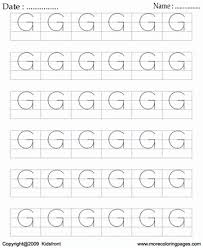 printable block letter dot to dots g coloring worksheets free