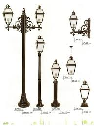 Cast Iron Outdoor Lighting by 3 5m Antique Cast Iron Garden Lamp Post With Factory Price Buy